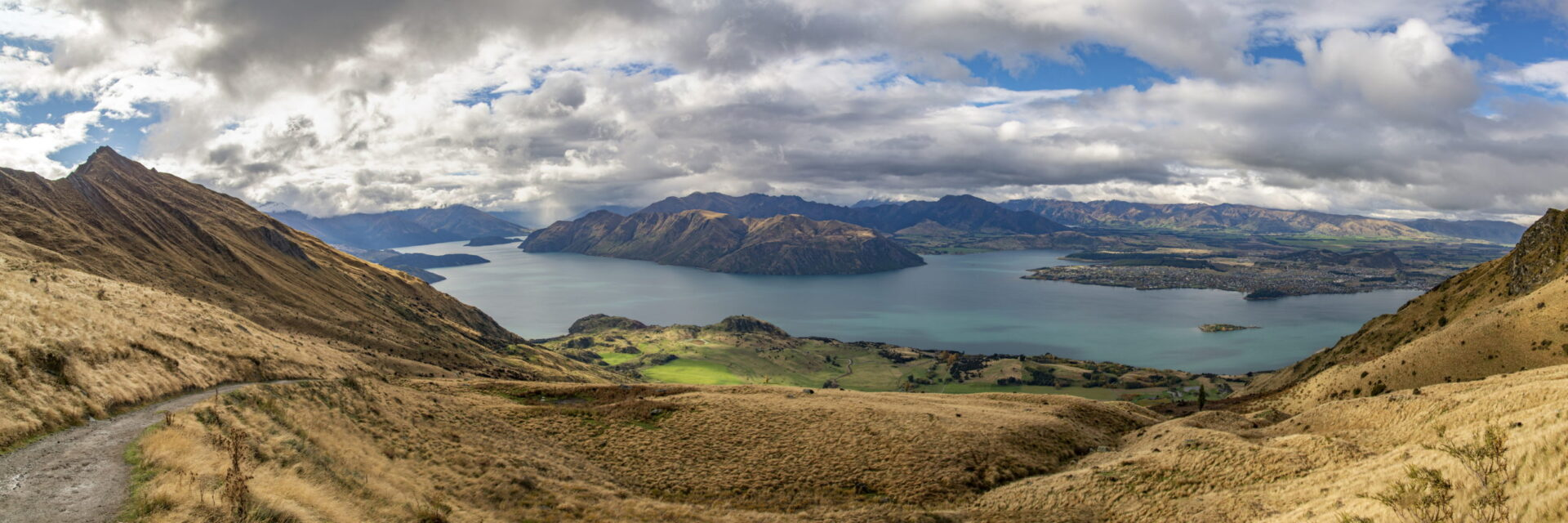 Panorama of Wanaka