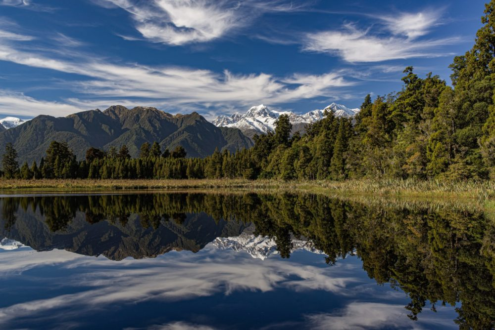 Reflection on Lake Matheson